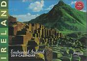 Cover of John Hinde Enchanted Ireland A4 2019 Calendar