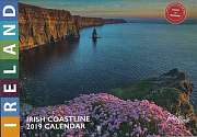 Cover of John Hinde Irish Coastline A5 2019 Calendar