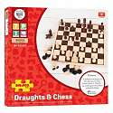 Cover of Draughts and Chess Set