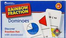 Cover of Rainbow Fraction Dominoes