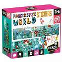 Cover of Fantastic World Puzzle & Stickers
