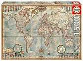 Cover of World Map 1500 Piece Puzzle