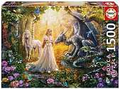 Cover of Mythical Fantasy 1500 Piece Puzzle