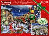 Cover of Santa's Special Deliver 2* 1000 Piece Jigsaw Puzzle
