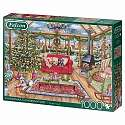 Cover of Christmas Conservatory 1000 piece puzzle