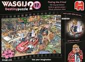 Cover of Wasgij Destiny 17 Paying The Price! 1000 Piece Puzzle