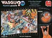 Cover of Wasgij Mystery 13 A Purrrfect Escape! 1000 Piece Puzzle
