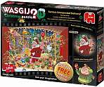 Cover of WASGIJ Christmas 15 Santa's Unexpected Delivery 2* 1000 piece Jigsaw Puzzle