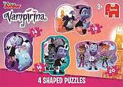 Cover of Vampirina 4 Shaped Puzzle