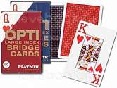 Cover of OPTI LARGE INDEX BRIDGE CARDS