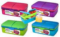 Cover of Sistema Quaddie Lunch Box