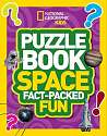 Cover of National Geographic Puzzle book Space