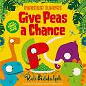 Cover of Give Peas a Chance (Dinosaur Juniors, Book 2)