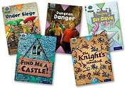 Cover of Project X Origins: Brown Book Band, Oxford Level 9: Knights and Castles: Pack 6