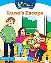 Cover of OVER THE MOON Luna's Escape: Senior Infants Fiction Reader 7