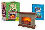 Cover of Mini Yule Log: With crackling sound!