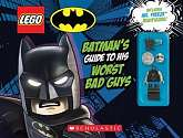 Cover of LEGO Batman: Batman's Guide to His Worst Bad Guys