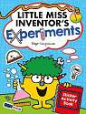 Cover of Little Miss Inventor's Experiments: Sticker Activity Book
