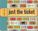 Cover of Just the Ticket Organizer