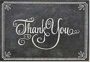 Cover of Chalkboard Thank You Notes (Stationery, Note Cards, Boxed Cards)