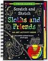 Cover of Scratch & Sketch Sloths & Friends