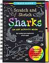 Cover of Scratch & Sketch Sharks