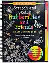 Cover of Scratch & Sketch Butterflies and Friends
