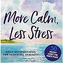 Cover of More Calm, Less Stress Insight Cards (Deck of 50 Relaxation Cards)
