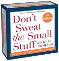 Cover of Don't Sweat the Small Stuff... 2019 Day-to-Day Calendar