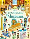 Cover of First Sticker Book Museums