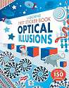 Cover of First Sticker Book Optical Illusions