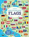 Cover of First Sticker Book Flags