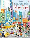 Cover of First Sticker Book New York