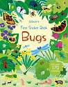 Cover of First Sticker Book Bugs