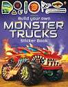 Cover of Build Your Own Monster Trucks Sticker Book