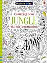 Cover of Colouring Book Jungle with Rub Down Transfers