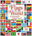 Cover of Flags of the World Colouring & Sticker Book
