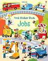 Cover of First Sticker Book Jobs