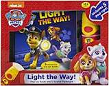 Cover of Paw Patrol Light the Way Flashlight Adventure Box