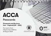 Cover of ACCA Corporate and Business Law (English): Passcards