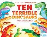 Cover of Ten Terrible Dinosaurs