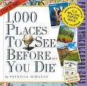 Cover of 1,000 Places to See Before You Die Page-A-Day Calendar 2019