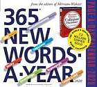 Cover of 365 New Words-A-Year Page-A-Day Calendar 2020