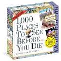 Cover of 1,000 Places to See Before You Die Page-A-Day Calendar 2020