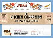 Cover of 2021 Kitchen Companion Page-A-Week Wall Calendar