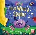 Cover of Peek and Play Rhymes: Incy Wincy Spider: A baby sing-along board book with flaps