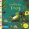 Cover of Axel Scheffler Freddy the Frog: A push, pull, slide book