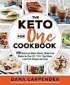 Cover of The Keto For One Cookbook