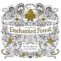 Cover of Enchanted Forest: An Inky Quest and Colouring Book
