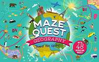 Cover of Maze Quest: Geography